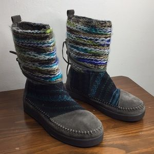 Toms Suede Indian Winter Boots